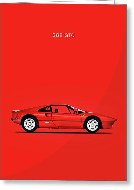 The Ferrari 288 Gto Greeting Card by Mark Rogan