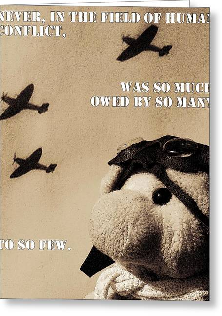 The Few Greeting Card by Piggy