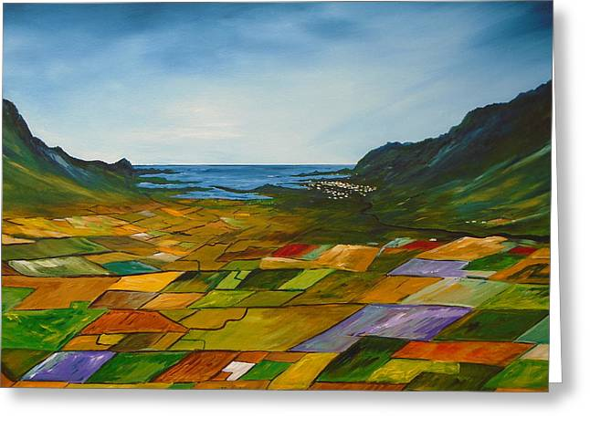 The Fields Of Dingle Greeting Card
