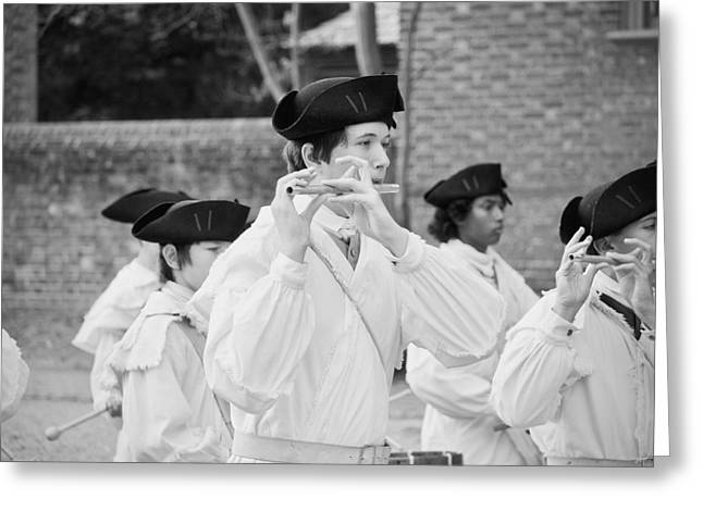 The Fifes And Drums Greeting Card by Rachel Morrison
