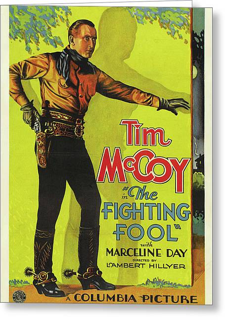 The Fighting Fool 1932 Greeting Card