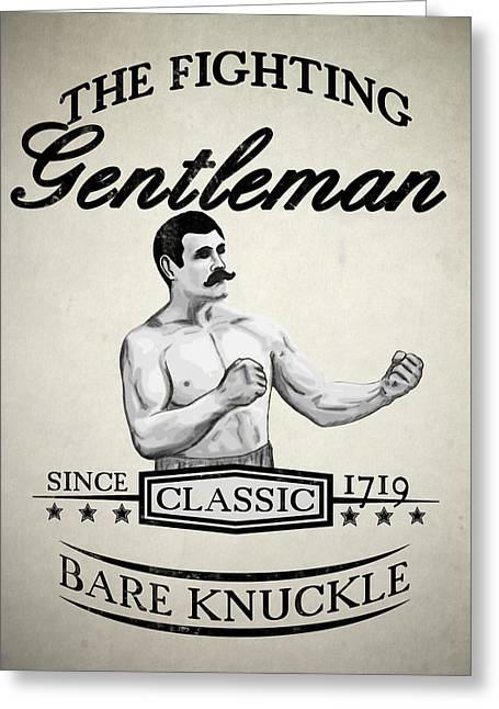 The Fighting Gentlemen Greeting Card