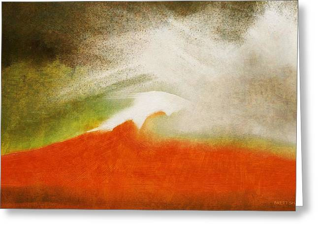 The Fire Mountain - Cotapaxi Greeting Card
