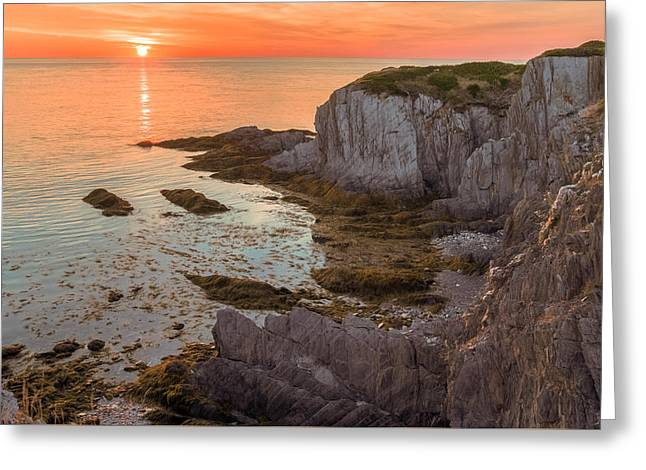 Nova Scotian Sunset Greeting Card