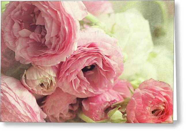 Greeting Card featuring the photograph The First Bouquet by Sylvia Cook