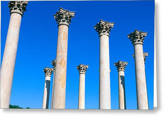 The First Capitol Columns Of The United Greeting Card