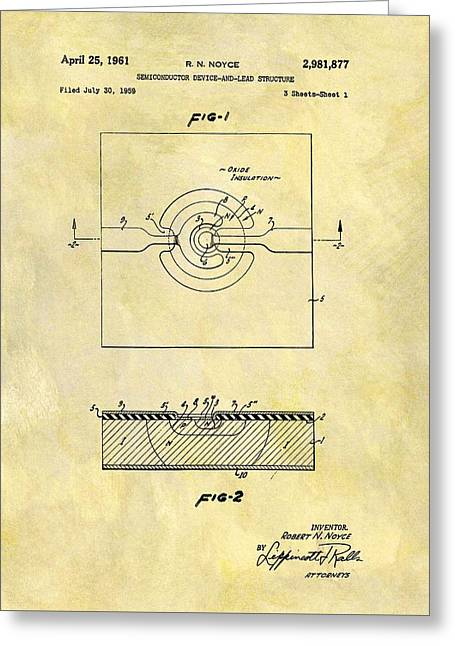 The First Computer Chip Patent Greeting Card by Dan Sproul