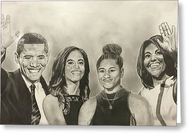 The First Family Greeting Card