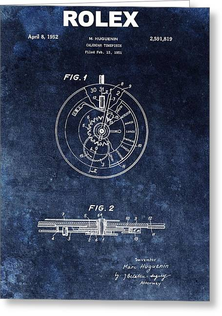The First Rolex Patent Greeting Card by Dan Sproul