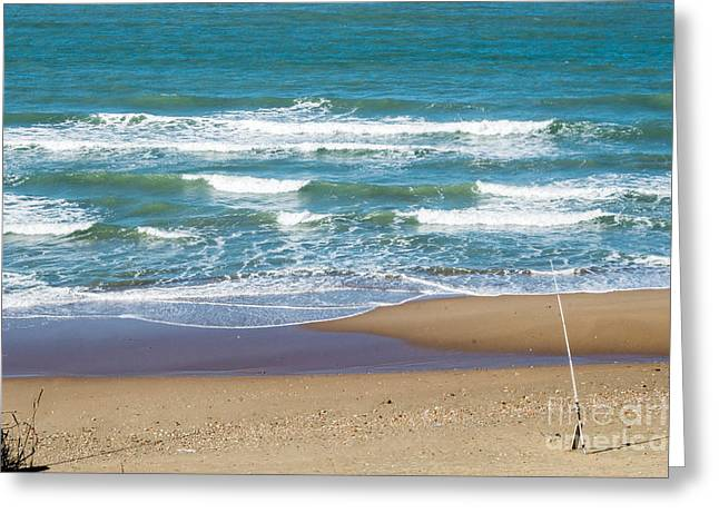 The Fishing Pole Greeting Card