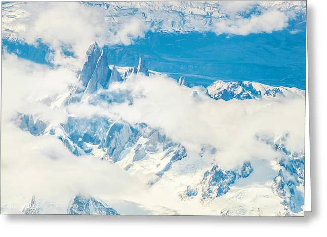The Fitz Roy Greeting Card by Andrew Matwijec