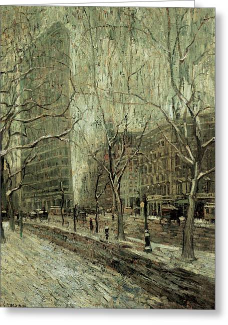 The Flatiron Building New York City Greeting Card