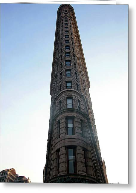 The Flatiron - Manhattan Greeting Card by Madeline Ellis