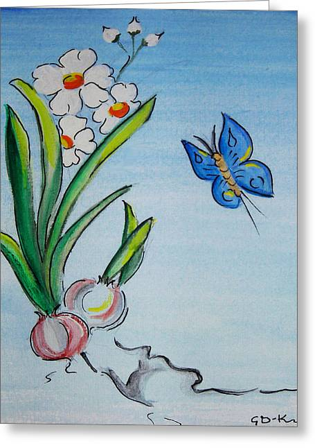 The Flight Of The Butterfly Greeting Card