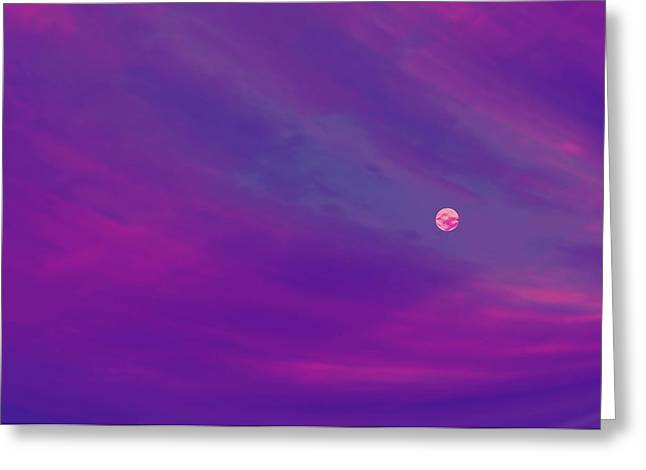 The Flight To Heaven Greeting Card by Geoff Simmonds