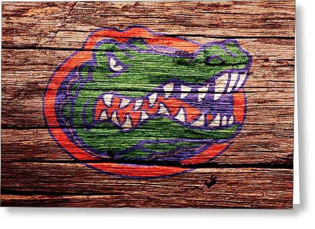 The Florida Gators 1a Greeting Card by Brian Reaves