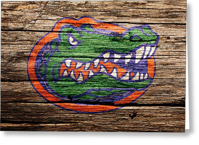 The Florida Gators Greeting Card by Brian Reaves