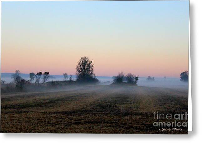 The Fog Greeting Card