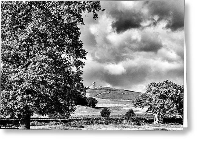 Old John Bradgate Park Greeting Card by John Edwards