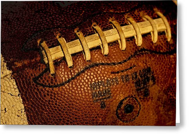 The Football 3 Greeting Card by David Patterson