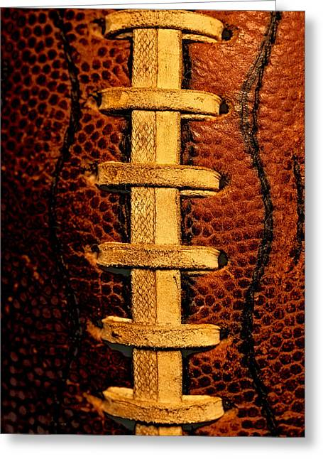 The Football 4 Greeting Card by David Patterson
