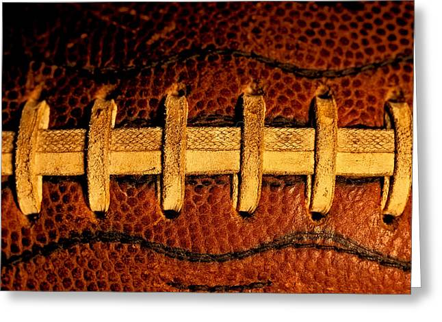The Football 5 Greeting Card by David Patterson