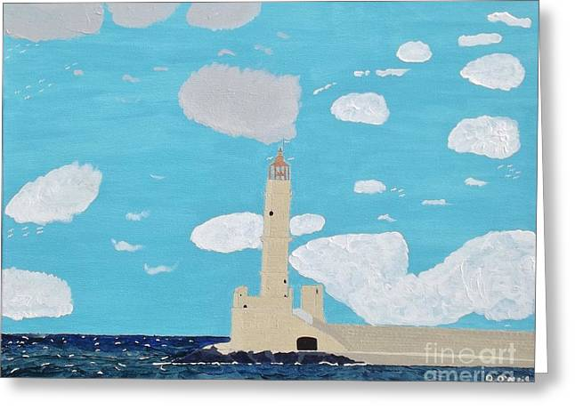 The Forgotten Lighthouse Greeting Card