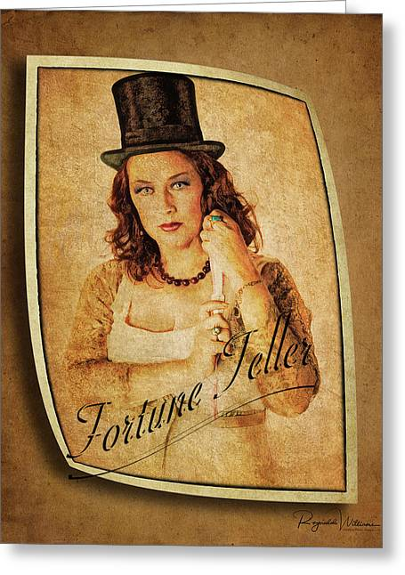 The Fortune Teller Greeting Card