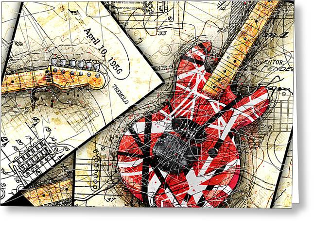 The Frankenstrat Greeting Card