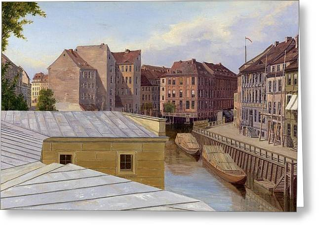 the Friedrichsgracht Greeting Card