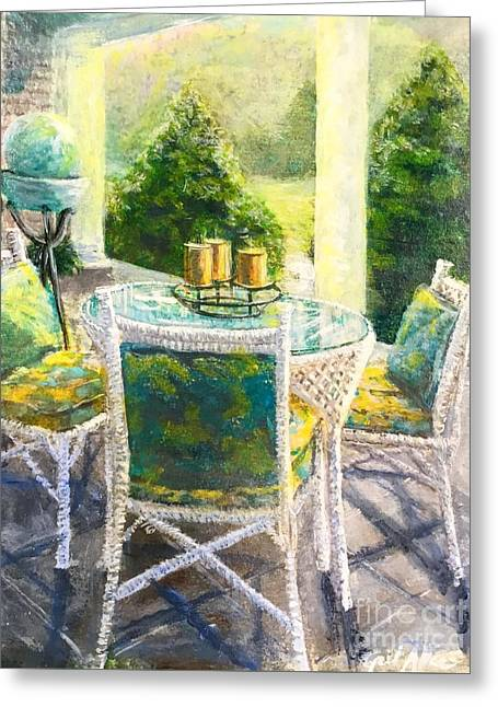 The Front Porch Greeting Card