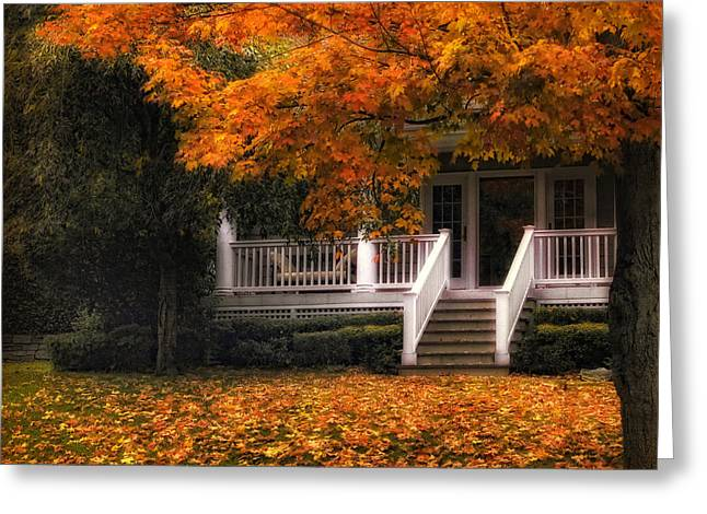 The Front Porch Greeting Card by Jessica Jenney