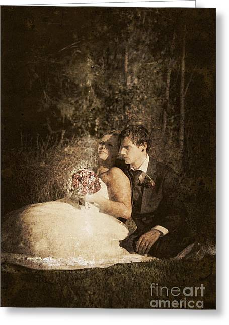 The Future Of A Marriage Greeting Card by Jorgo Photography - Wall Art Gallery