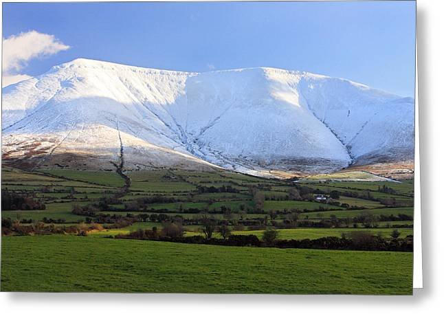 The Galtees  Ireland's Tallest Inland Mountains Greeting Card by Pierre Leclerc Photography