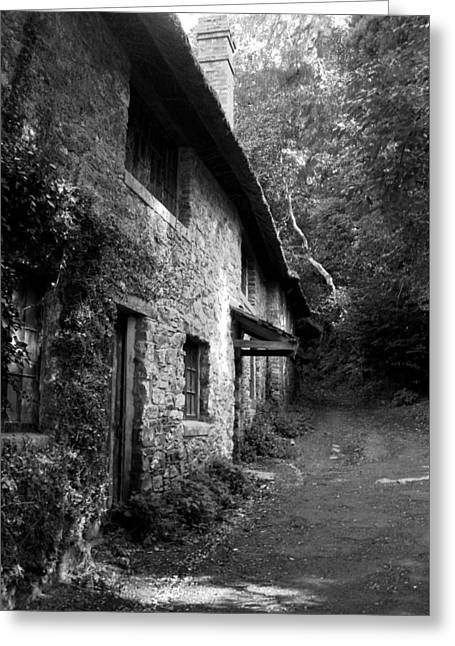 Greeting Card featuring the photograph The Game Keepers Cottage by Michael Hope