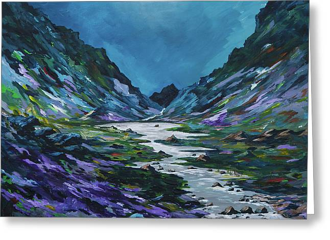 The Gap Of Dunloe Greeting Card by Conor Murphy