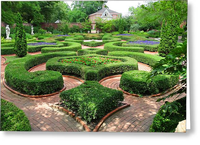 The Garden 5 Greeting Card by Mike McGlothlen