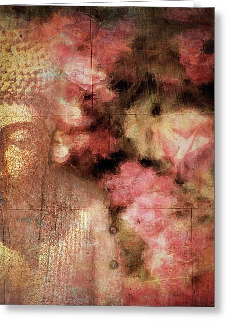 The Garden Buddha 1 Greeting Card
