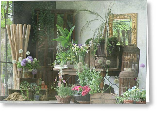 The Garden Room Greeting Card