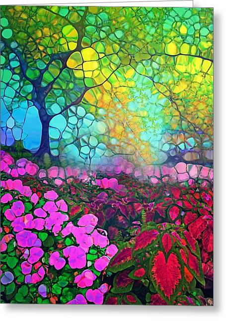 The Garden Tree Greeting Card