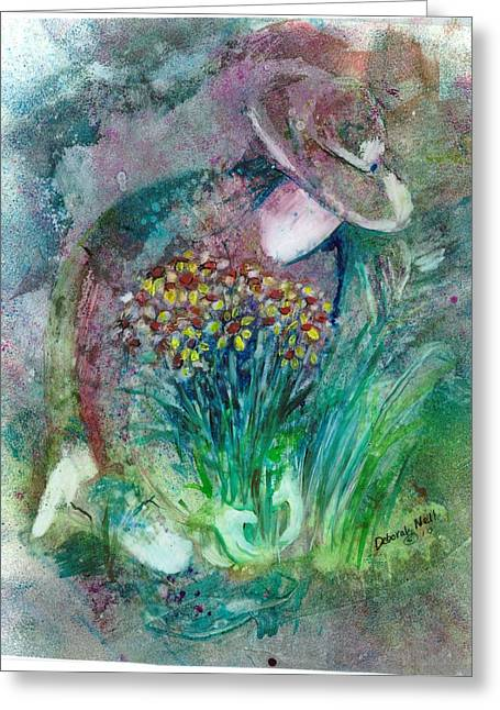 The Gardener Greeting Card