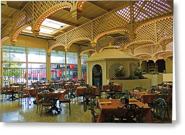 The Gardens Restaurant At Chattanooga Choo Choo Greeting Card