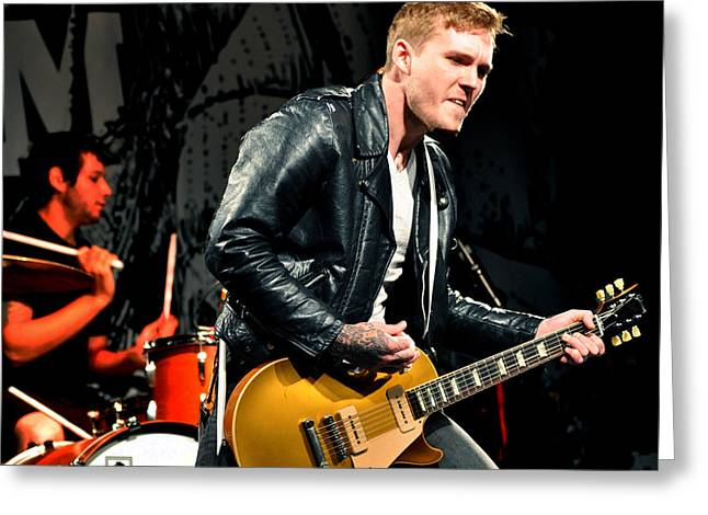 The Gaslight Anthem Greeting Card