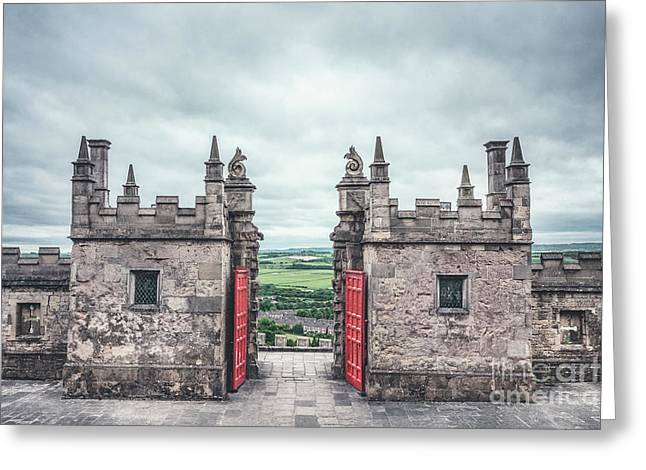 The Gate Of Evermore Greeting Card