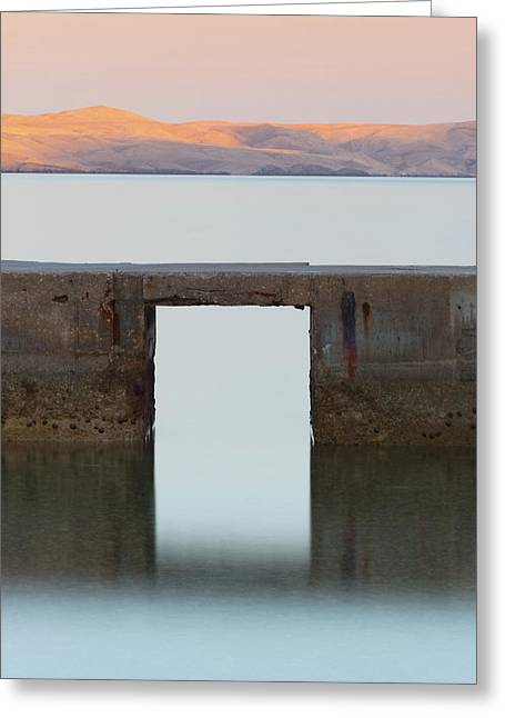 The Gate Of Freedom Greeting Card
