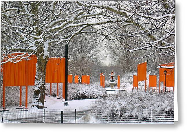 The Gates On Cherry Hill Greeting Card