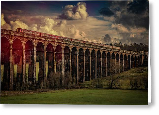 Greeting Card featuring the photograph The Gatwick Express by Chris Lord