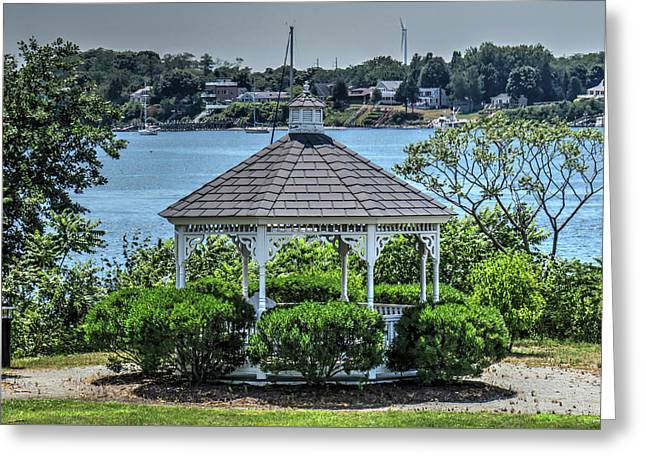 Greeting Card featuring the photograph The Gazebo by Tom Prendergast