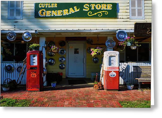 The General Store Greeting Card by Mountain Dreams
