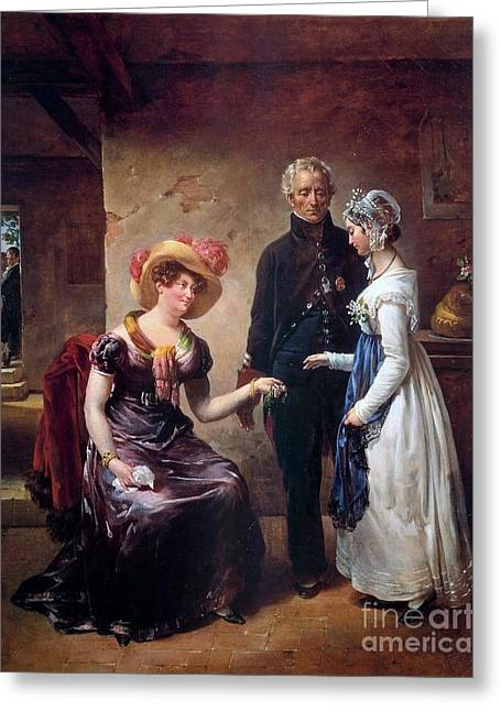 The Generosity Of The Duchess Of Angouleme Greeting Card